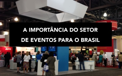 A importância do setor de eventos para o Brasil